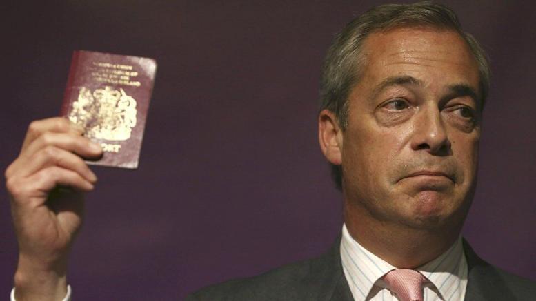 passaporto cittadinanza nigel farage