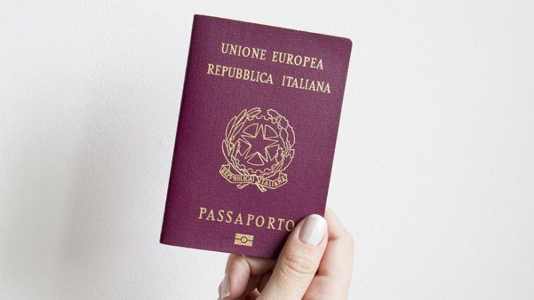 cittadinanza passaporto italiano