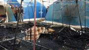 incendio san ferdinando tendopoli