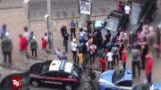 nigeriano aggressione poliziotti torino