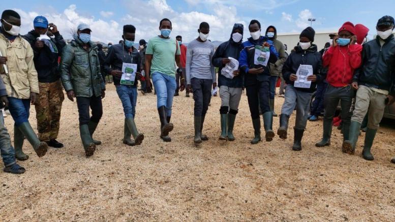 proteste regolarizzazione migranti soumahoro