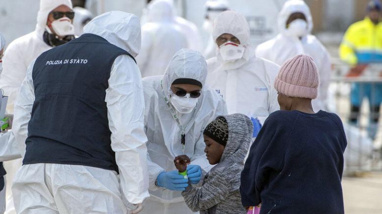 stranieri coronavirus rezza