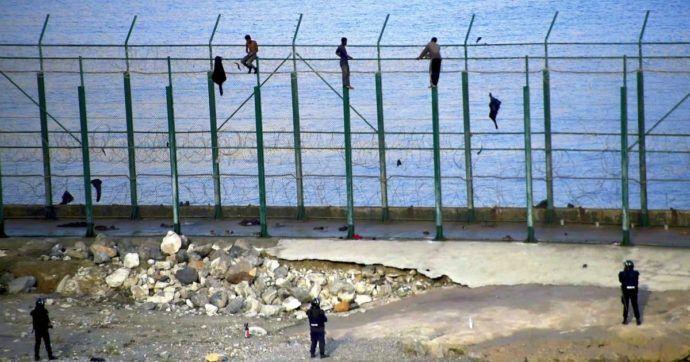 muro ceuta melilla spagna migranti
